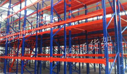 胜通货架带您了解重型仓储货架与托盘货架的搭配