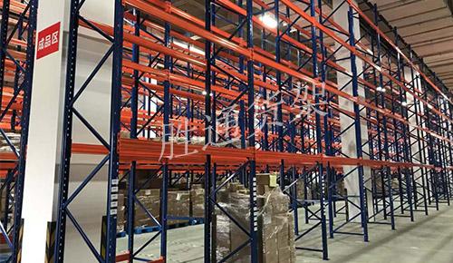 祝贺法莱欣科技再次订购胜通重型横梁货架100多组