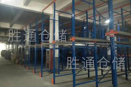 安吉某家具厂向胜通仓储订购贯通货架,重型货架100多组