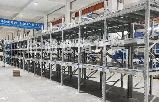 热烈庆祝杭州某电器股份公司重型横梁货架项目顺利完工!