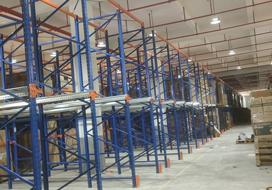 胜通贯通式货架的入驻,让安吉富恒家具的货物储存能力提升近50%!